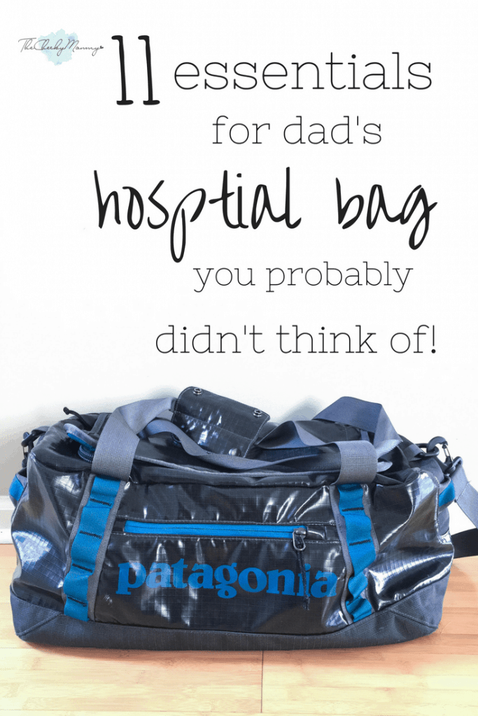 You packed your bag, you packed your baby's bag. You can finally relax. Oh wait, you still need to put the essential items in dad's hospital bag. You know he needs clothes and such but is there anything else that would make your stay more enjoyable? Check out this hospital bag checklist for dad to for the items you may have not thought of! naturallymademom.com #Hosptialbagchecklistfordad