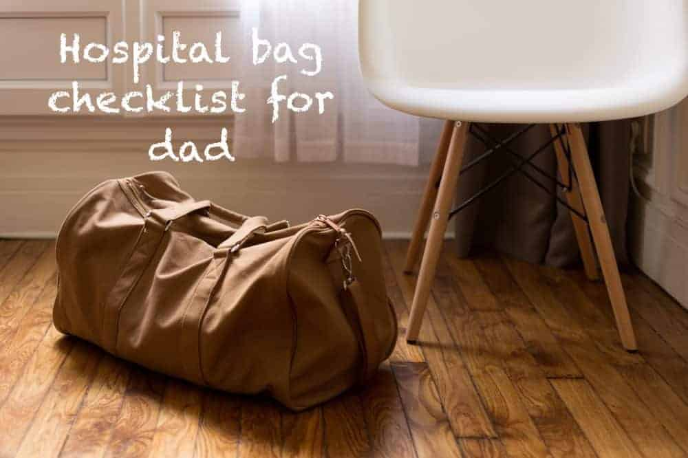 New Daddy Survival Kit – Hospital Bag Checklist for Dad