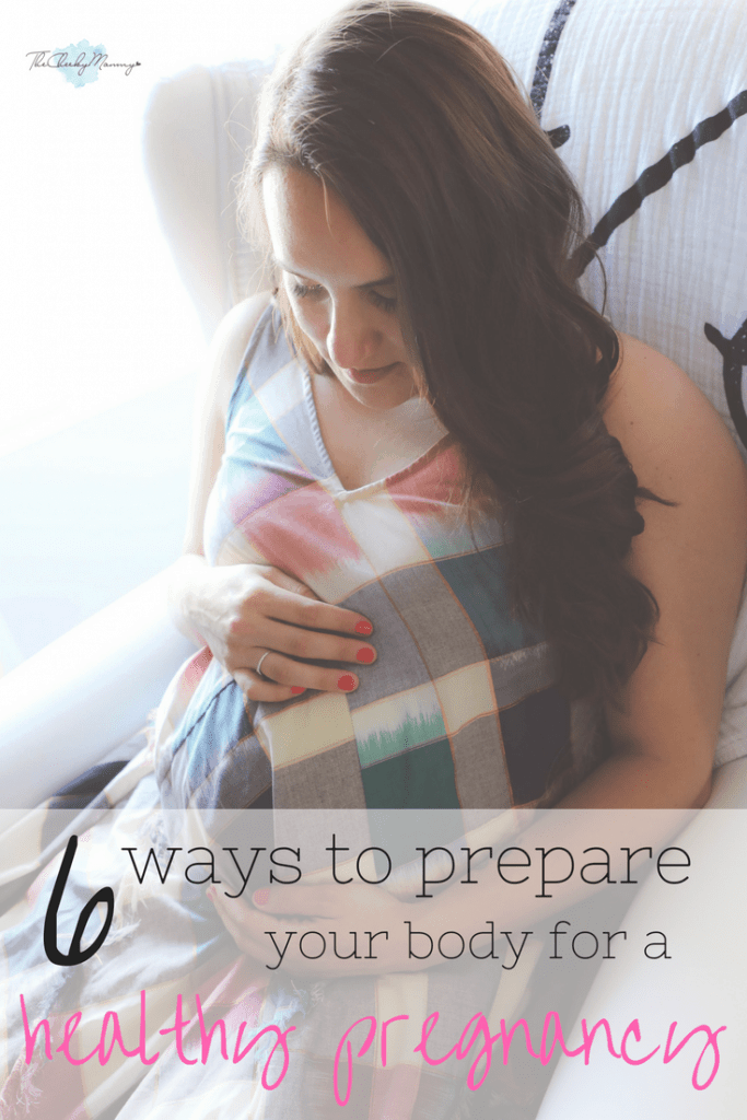 6 ways to get your body healthy for pregnancy and boost your fertility using natural methods. Make sure to mentally relax during this process because stress isn't great for fertility. #pregnancyprep #healthypregnancy
