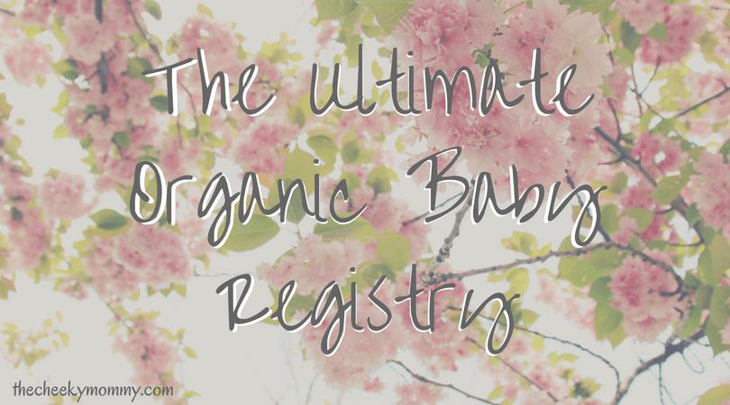 organic baby registry