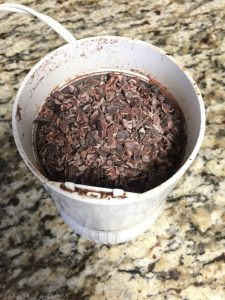 Cacao nibs fudge recipe