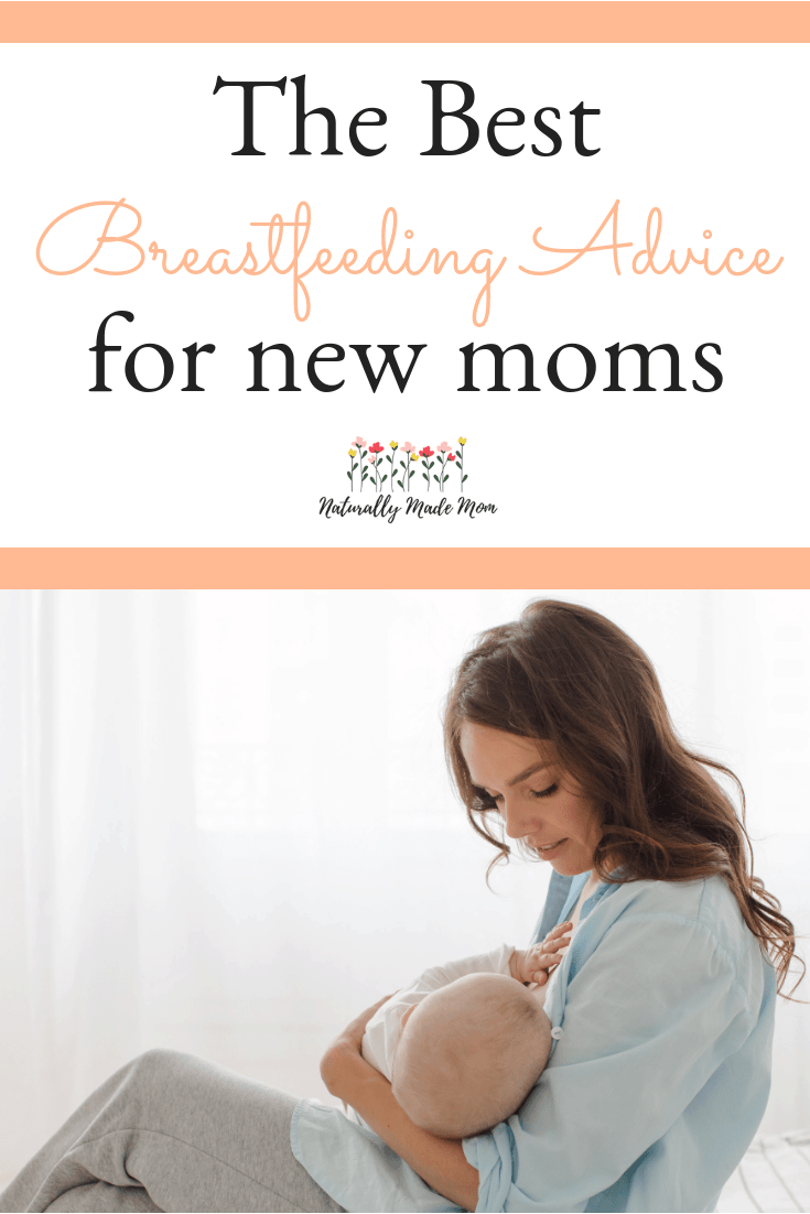Breastfeeding tips for new moms. The best breastfeeding advice and tips for sore nipples. #breastfeeding