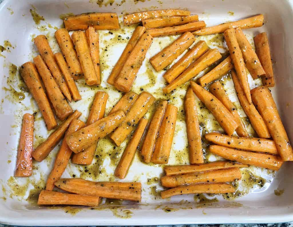 Honey Glazed Carrot Fry Recipe