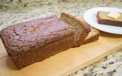 Healthy Gluten-Free Zucchini Bread Recipe